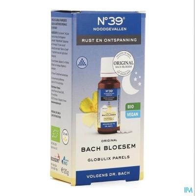 Bachbloesem Bio N°39 Noodgevallen Nacht Parels 20g