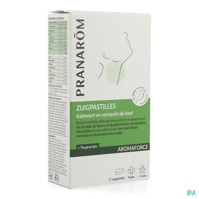 Aromaforce Keel Verzachtende Zuigpastilles 21
