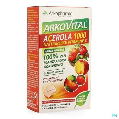 Arkovital Acerola 1000 Comp 30 + 1 Tube 15 Comp