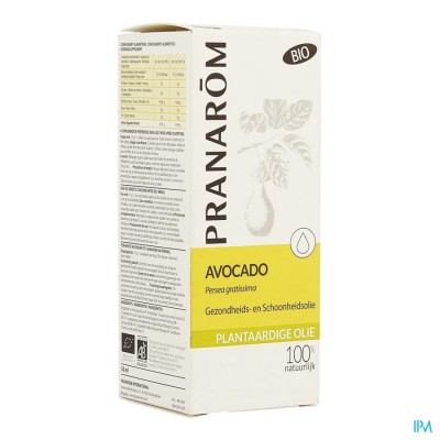 Avocado Bio Plant.olie 50ml Pranarom