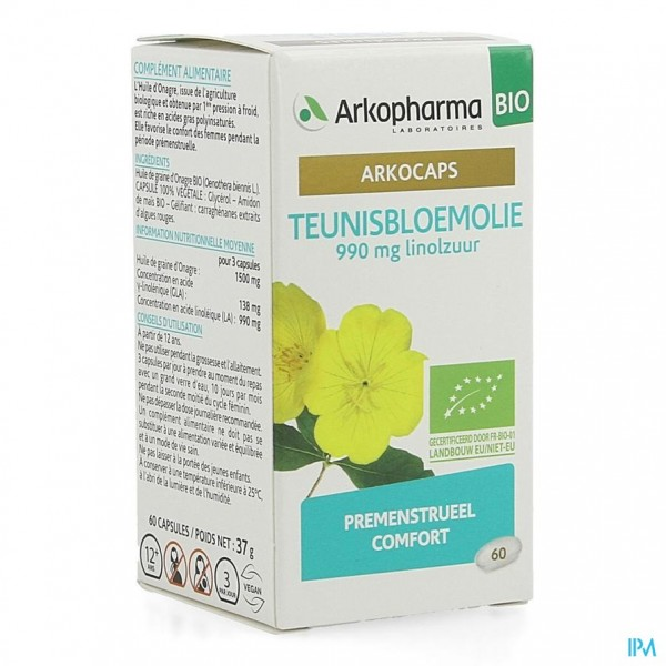 Arkocaps Teunisbloemolie Bio Caps 60
